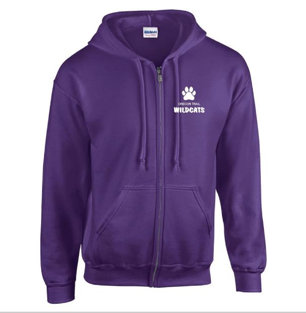 Adult Full-Zip Hoodie (Purple)