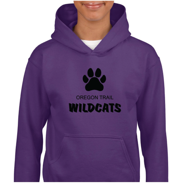 Youth Pull-Over Hoodie (Purple)