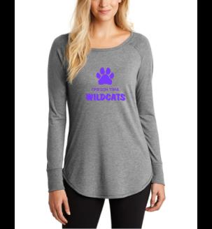 Ladies Long Sleeve T-Shirt (Grey)